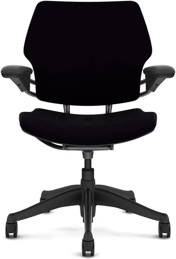 """Humanscale Freedom Task Chair: Standard Duron Arms - Standard Foam Seat Pan - Standard 5"""" Cylinder - Standard Carpet Casters"""