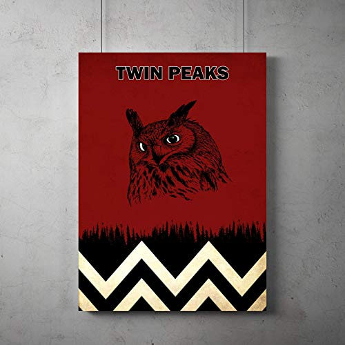 Twin Peaks TV Poster, Twin Peaks print, Twin Peaks room decor, Twin Peaks art, All Prints avialable in 9 SIZES and 3 type of MATERIALS