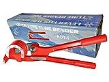 3 in 1 Tube Bender Triple Tube Bender for 1/4'', 5/16'' & 3/8'' Diameter -180 Degree Lever Type Bending Tool