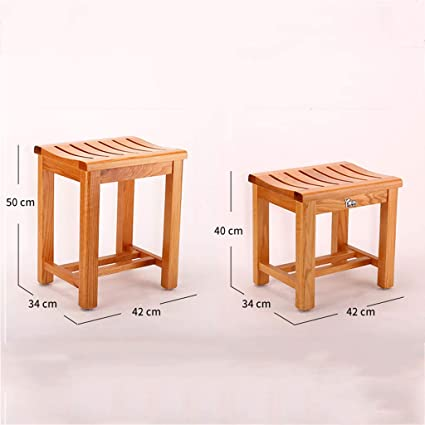 Amazon Com Home Bathroom Stool Bathroom Stool Wooden Stool