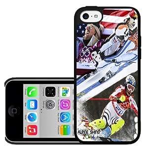 Alpine Skiing Olympics Hard Snap on Phone Case (iPhone 5c)