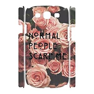 American Horror Story DIY 3D Cover Case for Samsung Galaxy S3 I9300,personalized phone case ygtg-770372