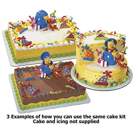Winnie The Pooh Tigger Birthday Surprise Cake Topper Kit