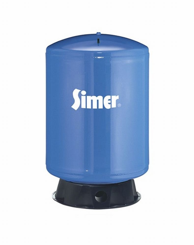 Pentair Water-Flotec-Simer VT99 119 Gallon Vertical Pre-Charged Bladder Tank, Blue