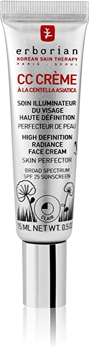 Erborian CC Cream High Def Skin Perfector Claire Spf25 15ml