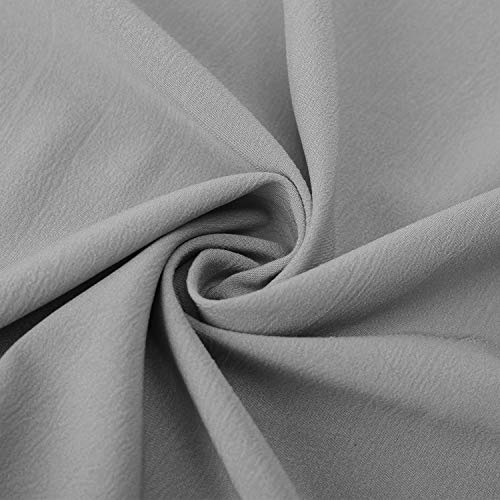 Mode Tunique Button Gris Blouse Chemisier Shirt Manches Chic Femme Top Up T Casual Haut Longues Aitos n6TUAx