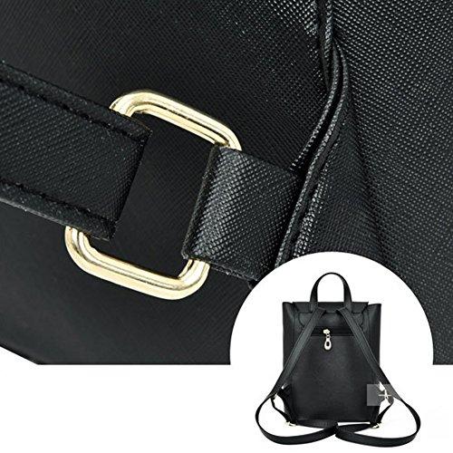 Profusion circle - Bolso mochila  para mujer, negro (negro) - Profusion circle1 negro