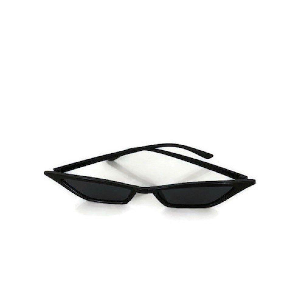 Amazon.com: Gafas de sol pequeñas triangulares para mujer ...