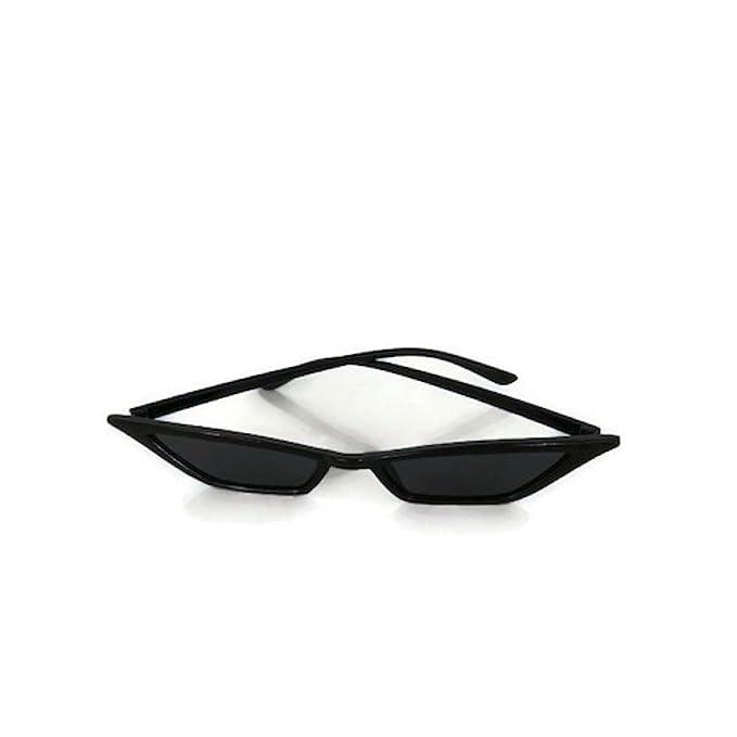 Amazon.com: Women fashion cat eye small triangle sunglasses ...