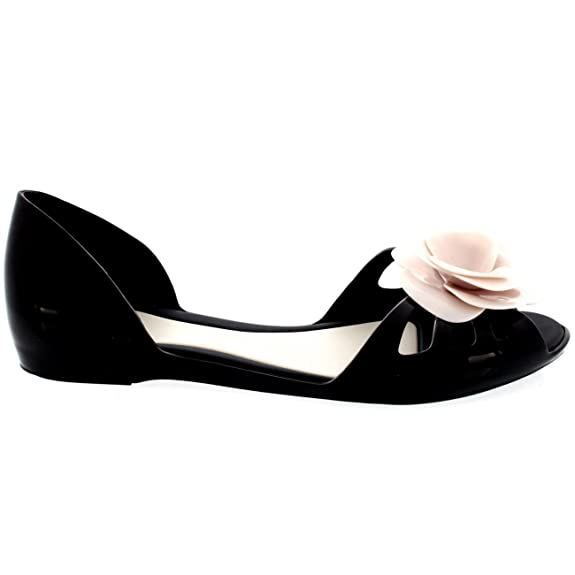 af8d70762e08 Womens Mel Dreamed by Melissa Jelly Flat Mules Casual Holiday Summer Shoe -  Pink - 8  Amazon.co.uk  Shoes   Bags