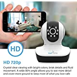 Bayit ProHD 720P Wi-Fi Camera (BH1965) Indoor Pan/Tilt 360 Degree Security Wireless IP Camera (White/Black)