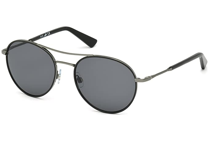 Gafas de sol Web WE0162 C55 08W (shiny gumetal / gradient ...