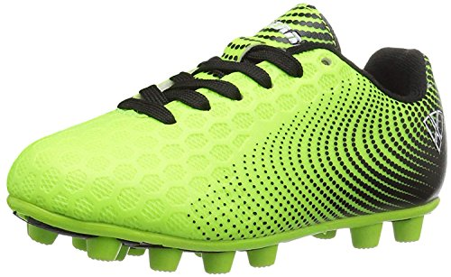 Vizari Unisex Stealth FG Green/Black Size 3 Soccer Shoe, Wide US Little Kid