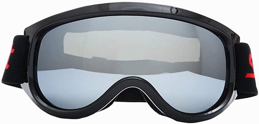 Fine Ski Goggles,Multi-Layer Anti Fog Lens,Outdoor Sports Snowboard Glasses Dust-Proof Anti-Fog Spherical Professional Snow Goggles Unisex