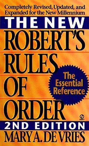 The New Roberts' Rules of Order