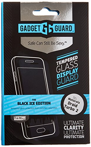 Gadget Guard Screen Protector for Motorola Droid Turbo 2 - Retail Packaging - Clear by Gadget Guard