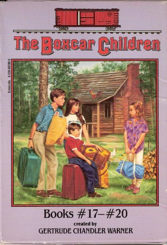The Boxcar Children Boxed Set Books #17-# 20 - Book  of the Boxcar Children