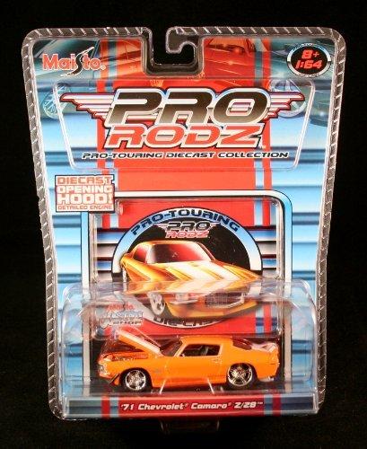 '71 CHEVROLET CAMARO Z/28 * ORANGE * Maisto Pro Rodz Pro-Touring Die-Cast Collection 1:64 Vehicle by Pro Rodz