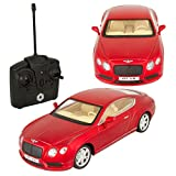 Braha Bentley GT V8 1:24 R/C Car Red