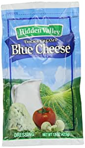 Hidden Valley Blue Cheese Dressing, 1.5-Ounce Portion Packs (Pack of 84)