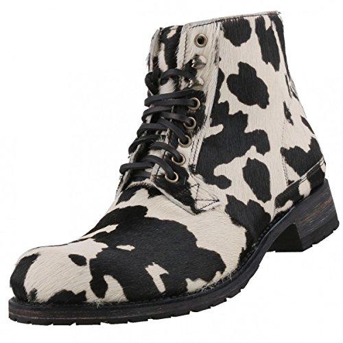 Sendra Boots - Botas de Piel para hombre Negro blanco/negro