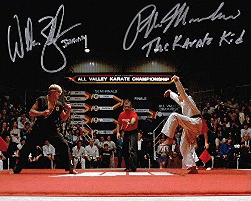 Ralph Macchino & William Zabka Karate Kid signed reprint photo RP from Loa_Autographs