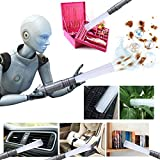 MAKE THE TASK OF CLEANING EASIER AND MORE EFFICIENT with the Homey Marketing Vacuum Attachment Accessory. This new cleaning tool will reach all those places that are hard to reach when using just a regular vacuum cleaner. Designed with an ergonomic g...