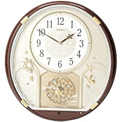 Seiko QXM470BRH Melody in Motion Clock