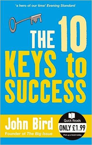 The 10 Keys to Success (Quick Reads): Amazon co uk: John