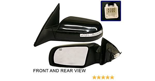 Kool Vue Power Mirror For 2007-2012 Nissan Altima Sedan Passenger Side Heated