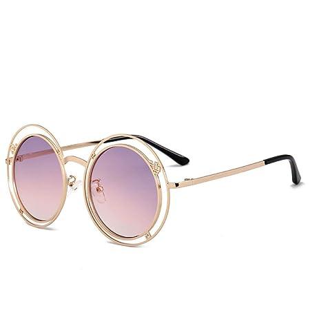 Yangjing-hl Gafas de Sol Tendencia de Moda Gafas de Sol con ...