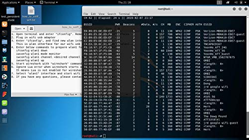 Dualband WiFi Sniffer, 802 11 Packet Injection for Kali Linux Based on  rt5572 (Alternative to Airpcap)