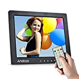 Digital Picture Frame, Andoer 10 inch LED Digital Photo Frame 1080P HD Resolution Desktop Display Image MP4 Video Support Auto Play with Infrared Remote Control
