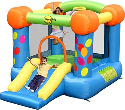 Party Slide and Hoop bouncy Castle - Rideontoys4u