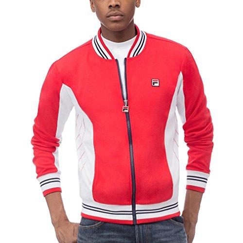 (Fila Men's Settanta Jackets, Chinese Red, L)