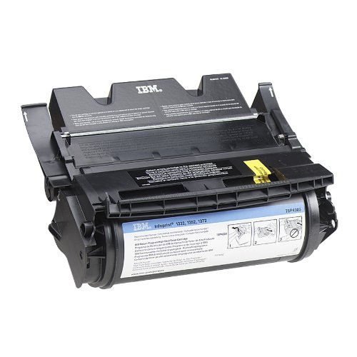 IBM 75P4301 Genuine Laser Toner Cartridge for IBM InfoPrint 1332/1352/1372 Series (Black) (Ibm Infoprint 1332)