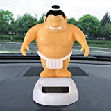 Model D Solar Powered Dancing Swinging Animated Bobble Dancer Toy Car Decor