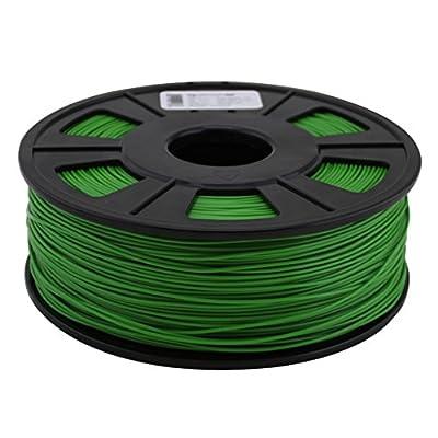 Quantum 3D Green 1.75 mm ABS PRO 3D Printing Filament (1.0 kg Roll)