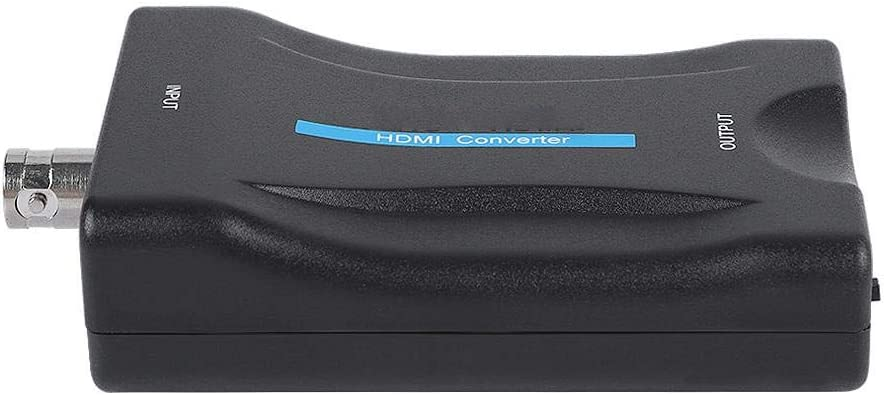 Exliy Adaptador convertidor BNC Caja de Adaptador convertidor de Video BNC Hembra a HDMI con Interruptor de Salida 720P 1080P HD para c/ámara de vigilancia de Seguridad