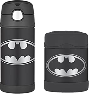 DC Comics Batman Funtainer Thermos Bottle & Food Jar