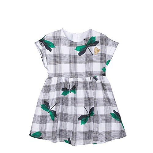 Catimini Chequered Print Dress by Catimini