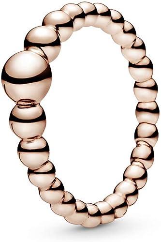 Amazon Com Pandora String Of Beads Pandora Rose Ring Jewelry