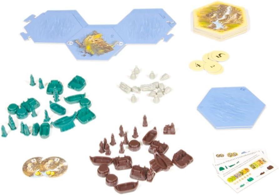 Devir - Catan, Piratas y Exploradores, juego de mesa (BGPIR56) - Ampliación para 5 y 6 jugadores: Amazon.es: Juguetes y juegos