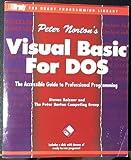 Peter Norton's Visual BASIC for DOS, Holzen, Steven, 1566860261