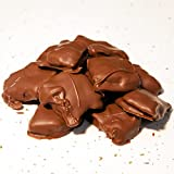 Hall's Milk Chocolate Covered Peanut Brittle, 1 Pound