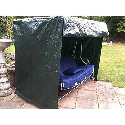 garden-mile-Heavy-Duty-Green-Weatherproof-Garden-3-Seater-Swing-Seat-Hammock-Furniture-Covers-UV-Protected-Secure-Drawstring