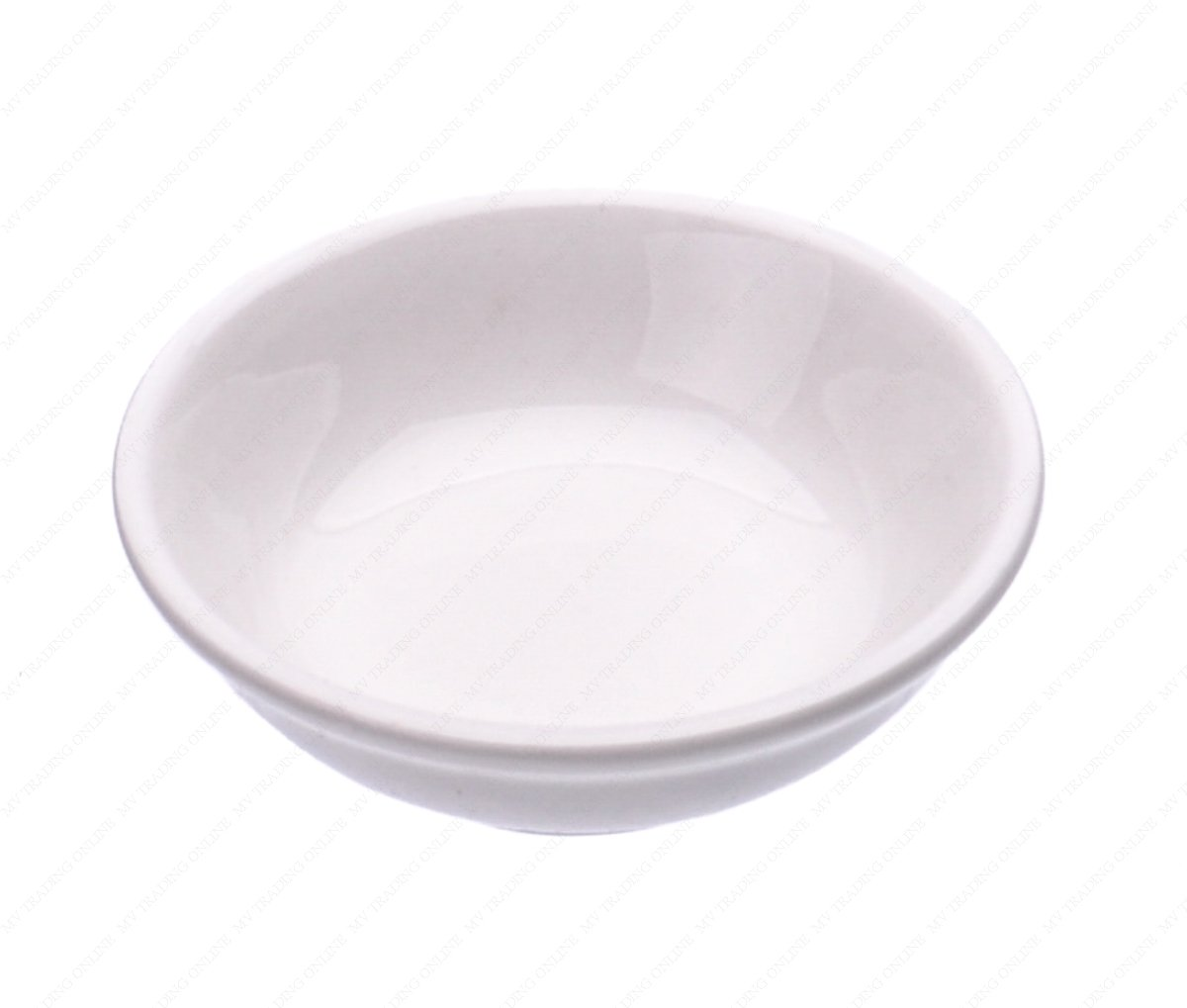 Ceramic Side Sauce Dish, 3-Inch, 2-Ounce, Set of 12