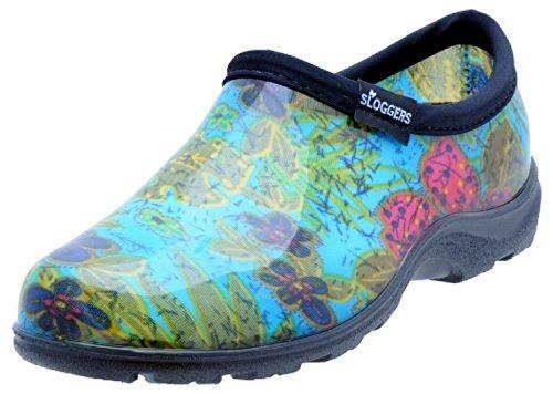 Sloggers 5102BL11 Midsummer Blue Waterproof Shoe, 11 (Sloggers Garden Waterproof)