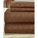 Bamboo Comfort Plus 2400 Series Sheet set (Brown, King)