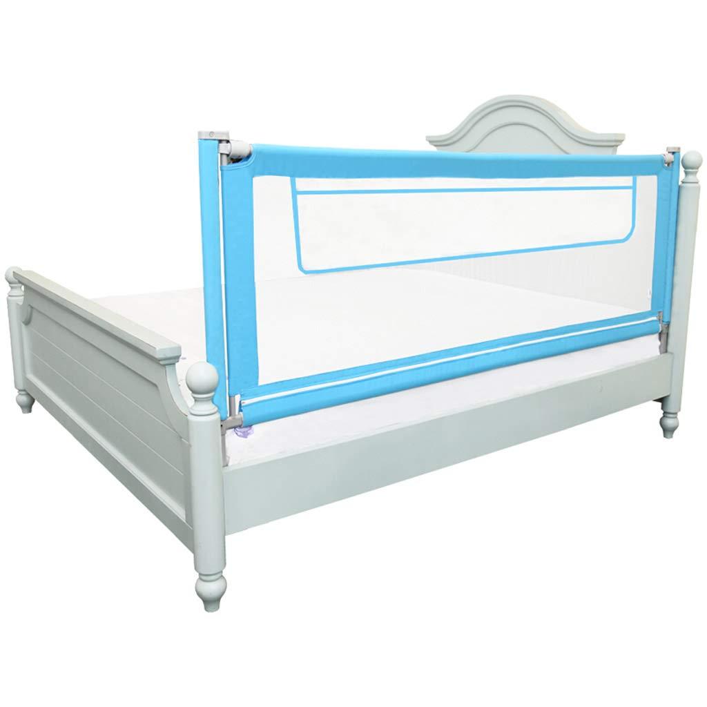 GY ベッドレール、 子供の反落下 ベッドガードレール、 ベビーセーフティー ベッドサイドフェンス、 垂直リフト 調整可能な、 ユニバーサル1.5m / 1.8m / 1.9m / 2.0m、 2色展開 (色 : 青, サイズ さいず : 150cm) 150cm 青 B07JVFSY2G
